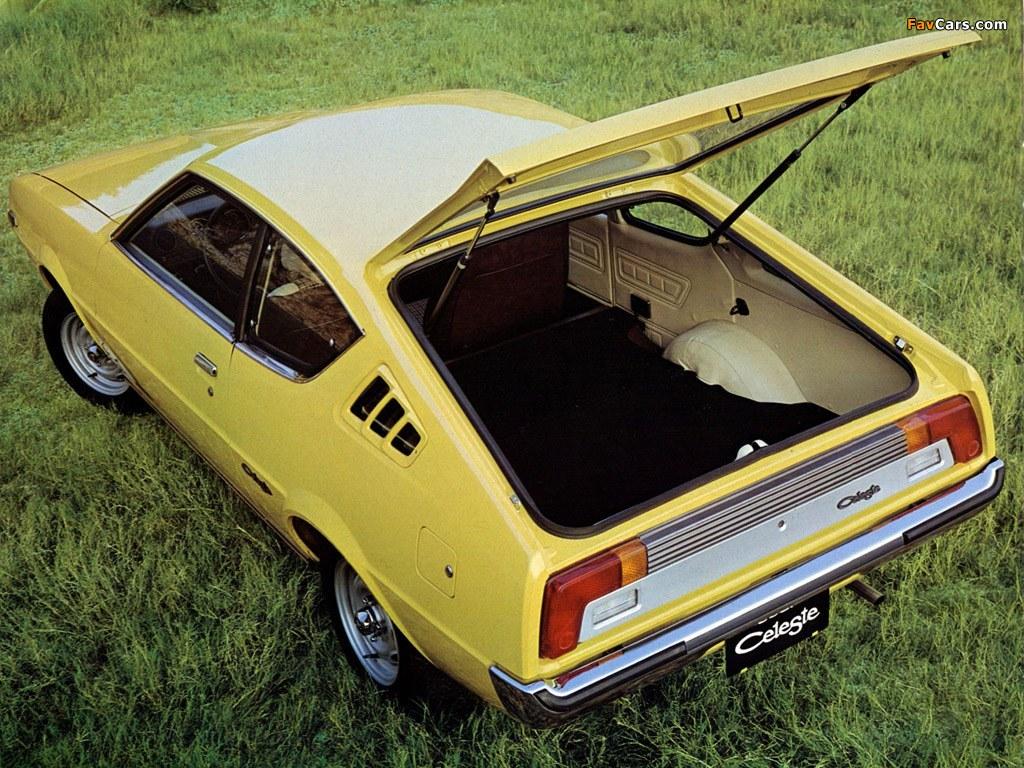 Mitsubishi Celeste 1975 - 1981 Hatchback 3 door #6