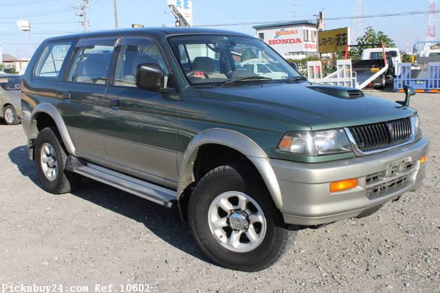 Mitsubishi Challenger I 1996 - 1999 SUV 5 door #1