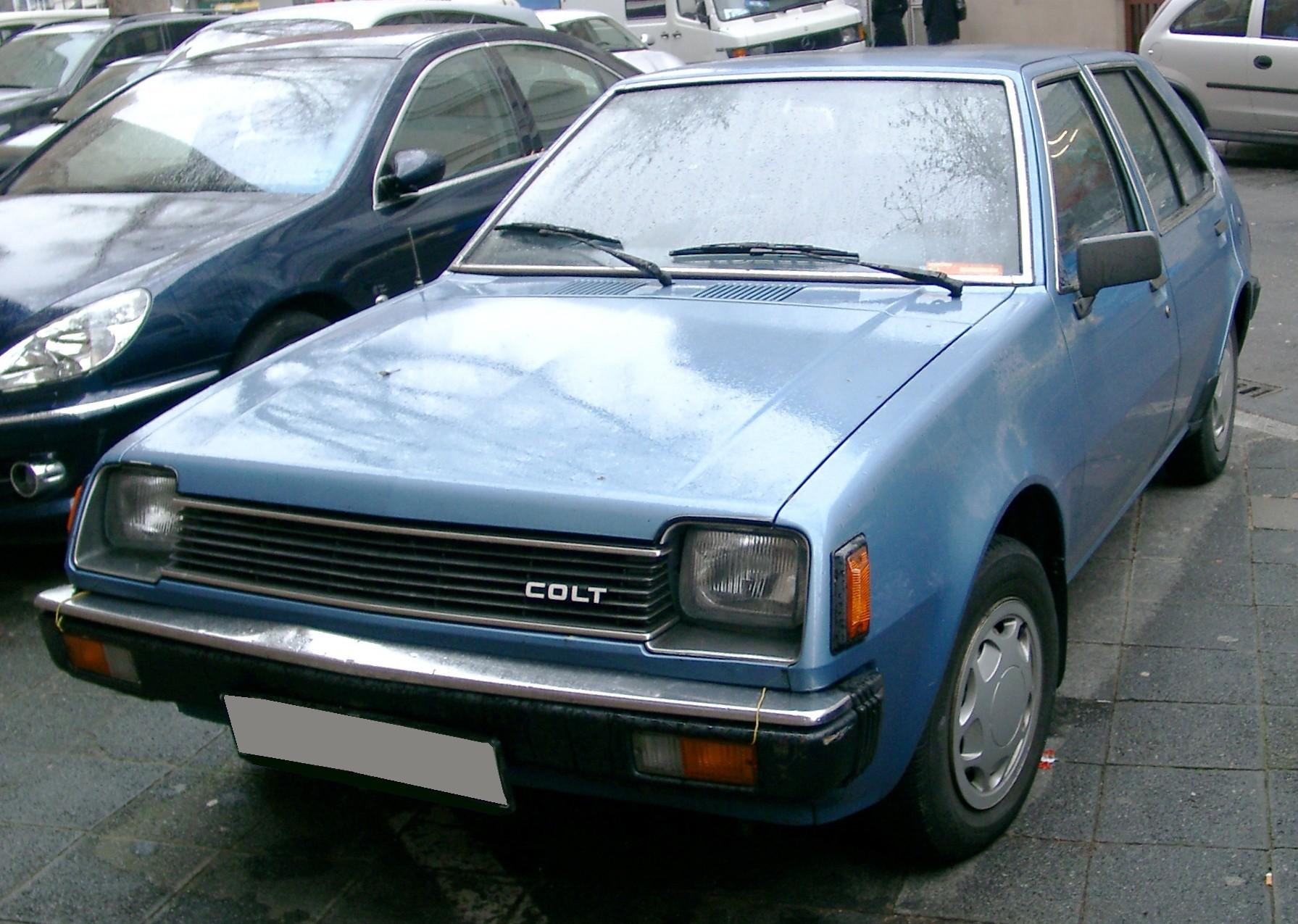 Mitsubishi Colt I (A150) 1978 - 1984 Hatchback 3 door #5