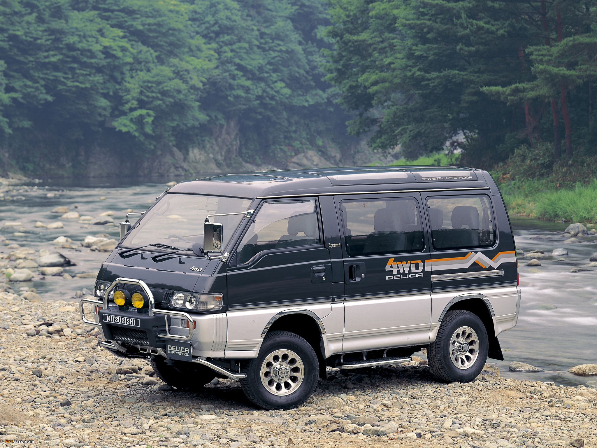 Mitsubishi Delica III 1986 - 1999 Minivan #3