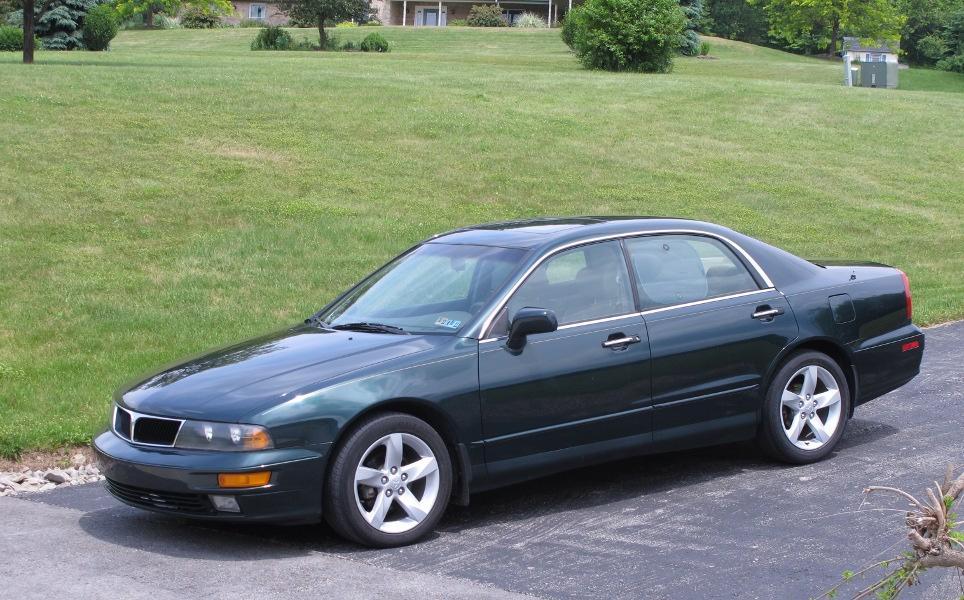 Mitsubishi Diamante I 1990 - 1997 Sedan #1