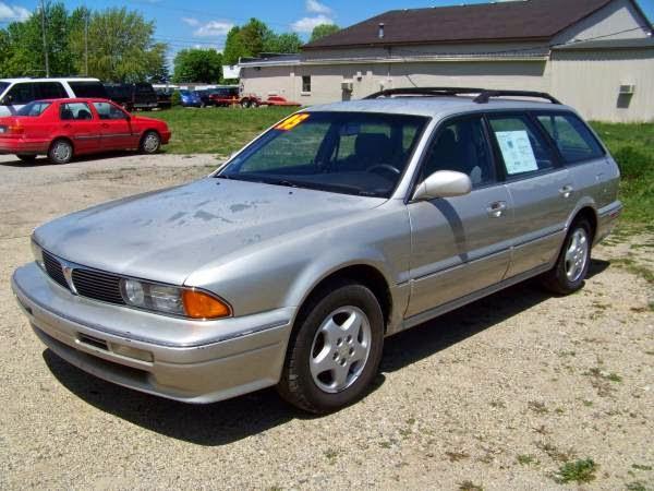 Mitsubishi Diamante I 1990 - 1997 Station wagon 5 door #2