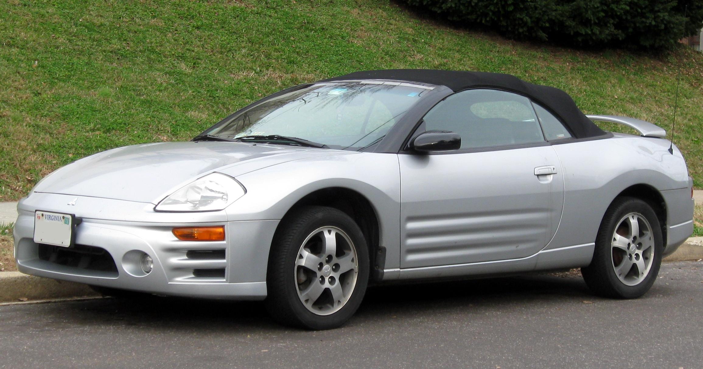 Mitsubishi Eclipse III 1999 - 2005 Cabriolet #5