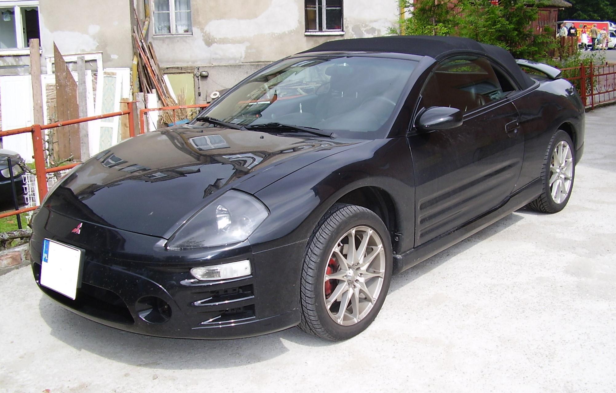 Mitsubishi Eclipse III 1999 - 2005 Cabriolet #6