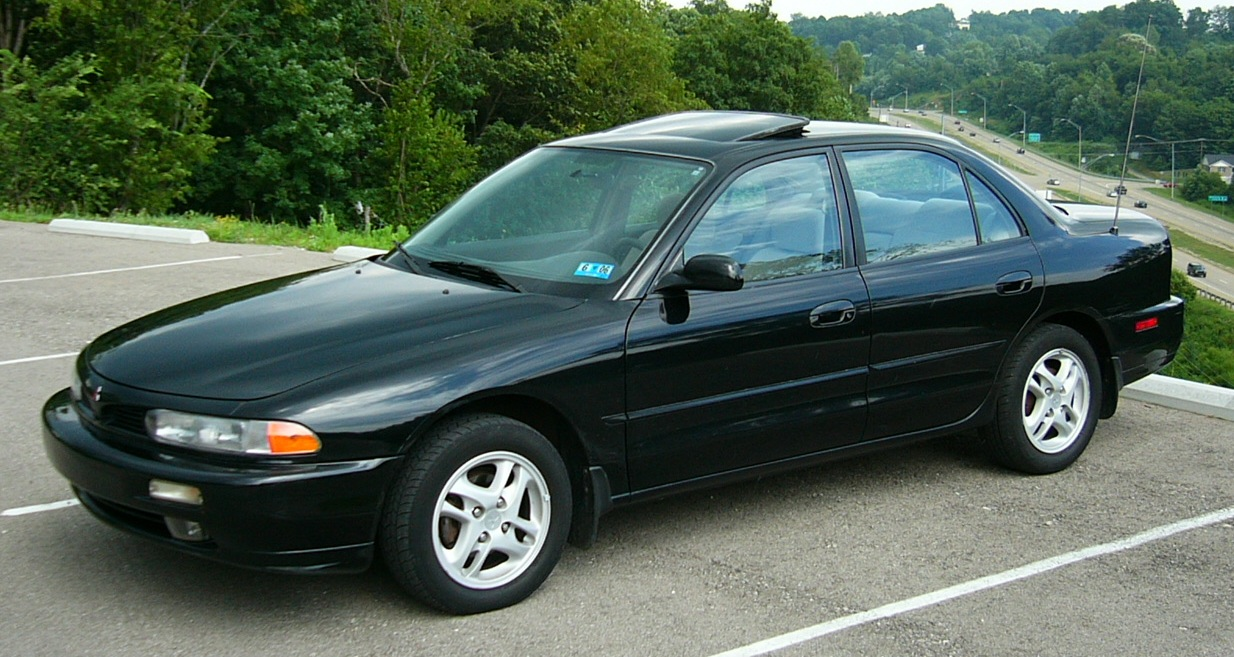 Mitsubishi Emeraude 1992 - 1996 Sedan #5