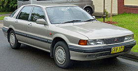 Mitsubishi Emeraude 1992 - 1996 Sedan #4
