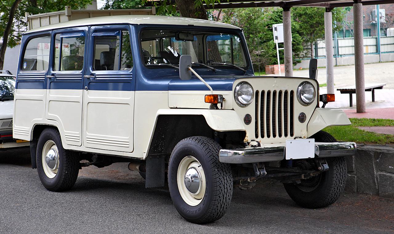 Mitsubishi Jeep J 1953 - 1998 SUV 3 door #5