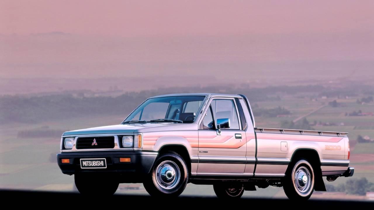 Mitsubishi L200 II 1986 - 1996 Pickup #4