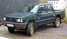 Mitsubishi L200 II 1986 - 1996 Pickup #7
