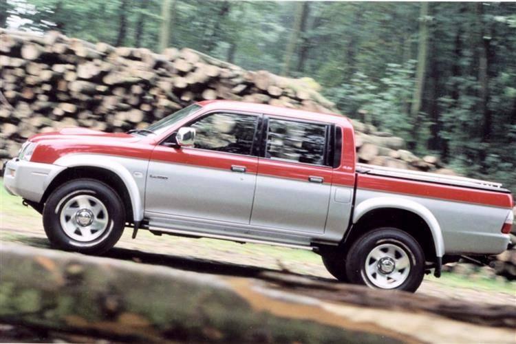 Mitsubishi L200 III 1996 - 2004 Pickup #5
