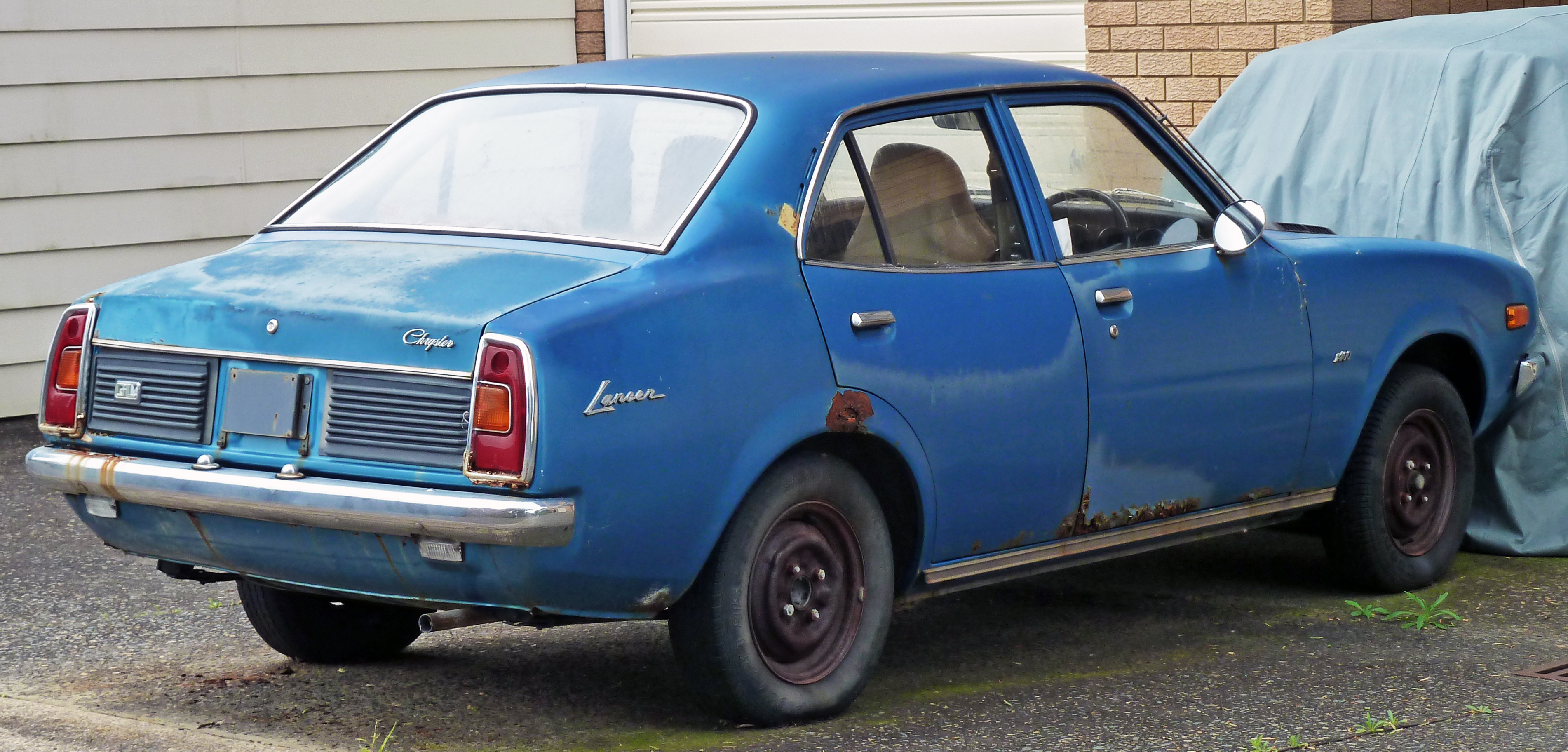 Mitsubishi Lancer I 1973 - 1985 Coupe #1
