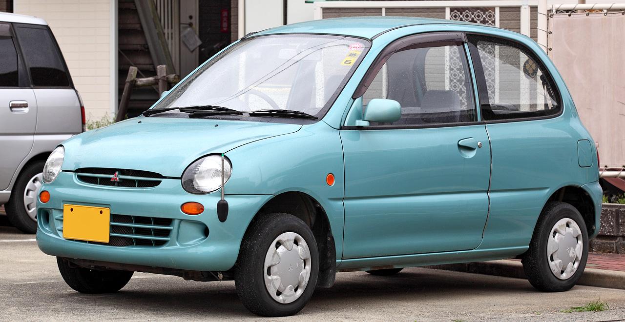 Mitsubishi Pistachio 1999 - 2000 Hatchback 3 door #5