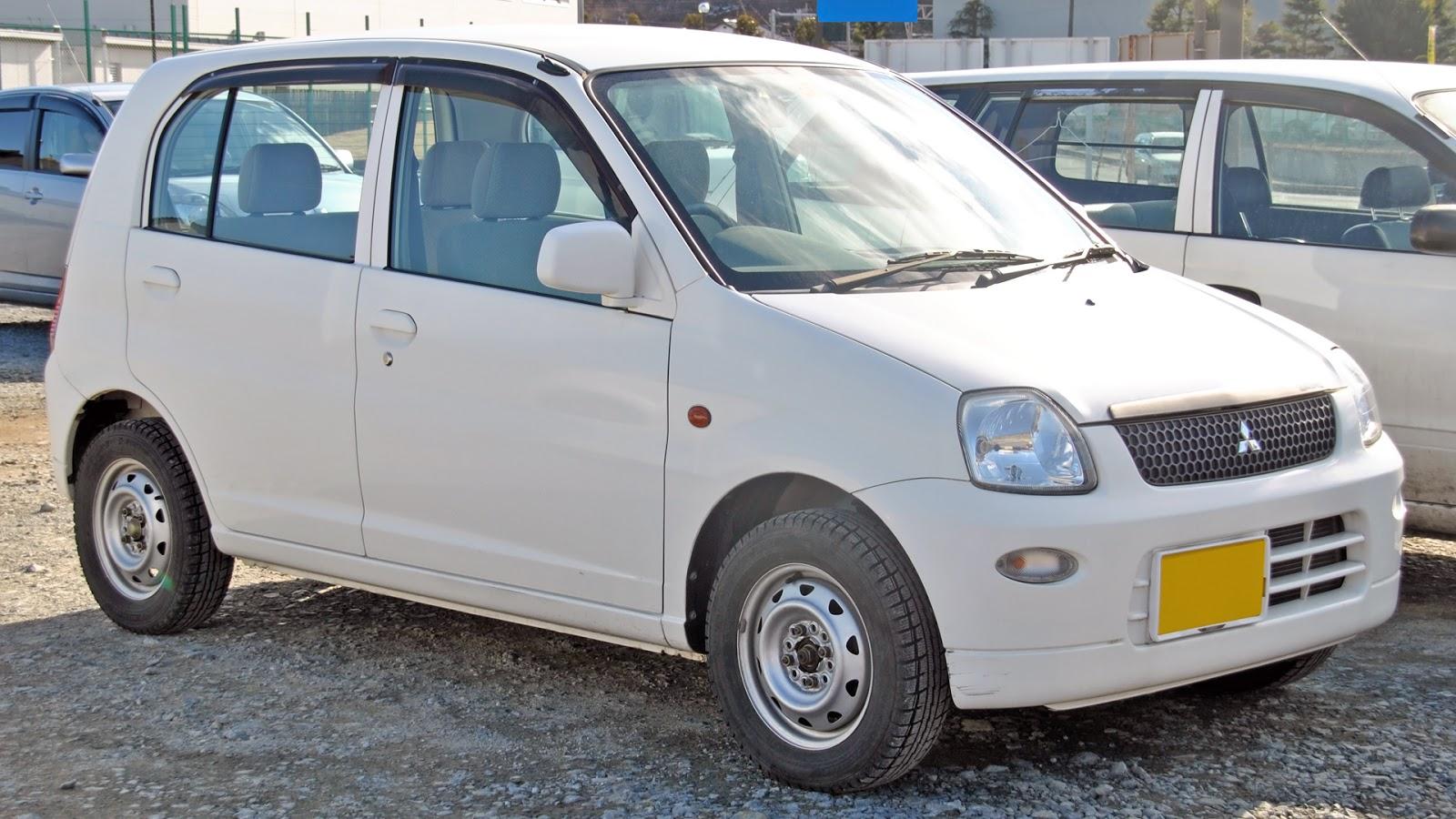 Mitsubishi Pistachio 1999 - 2000 Hatchback 3 door #8