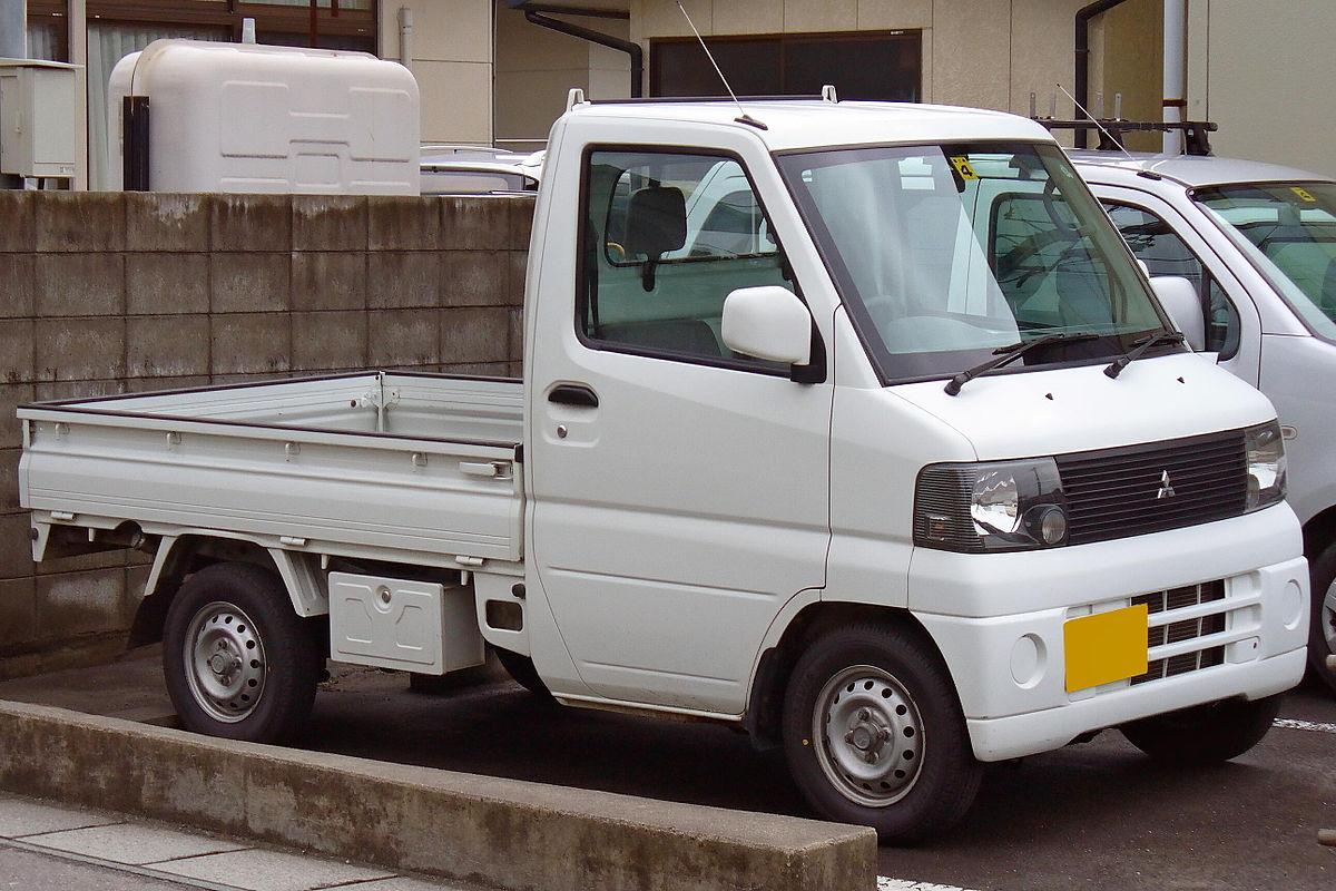 Mitsubishi Minicab 1999 - now Microvan #8