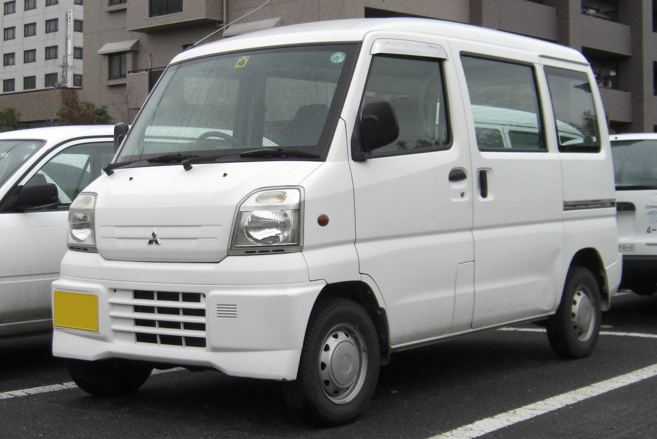 Mitsubishi Minicab 1999 - now Microvan #7