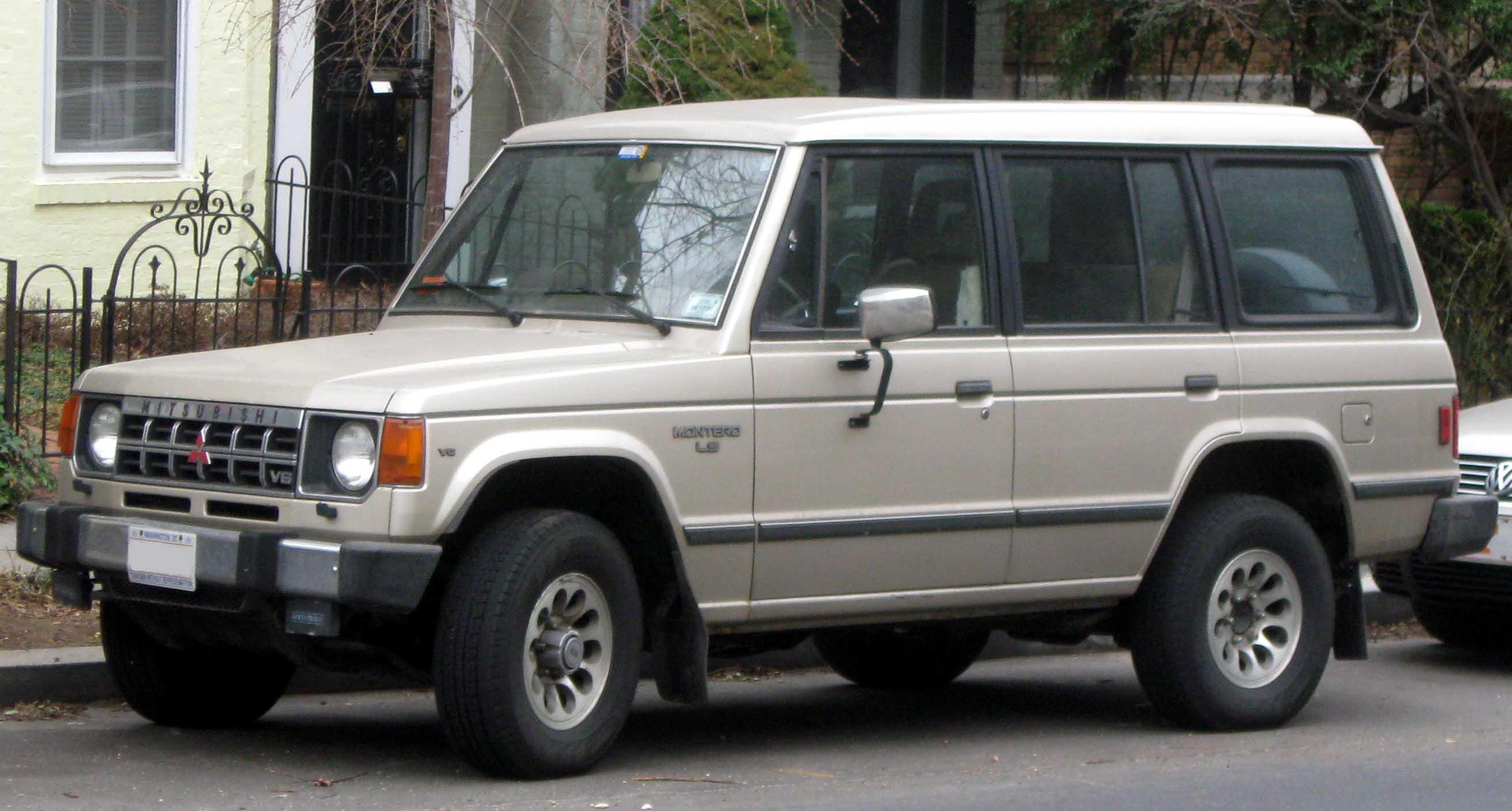 Mitsubishi Pajero II 1991 - 1997 SUV 5 door #6