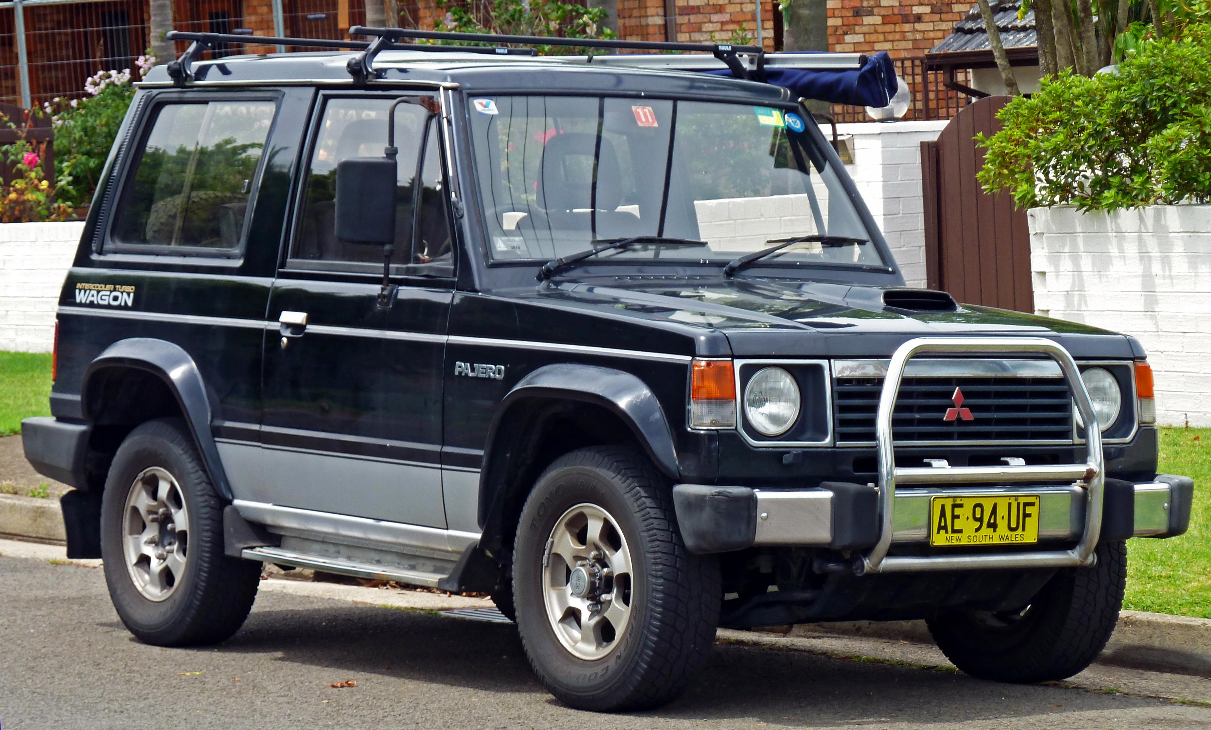 Mitsubishi Pajero I 1982 - 1991 SUV #5