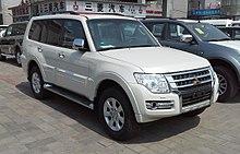 Mitsubishi Pajero IV Restyling 2 2014 - now SUV 5 door #7