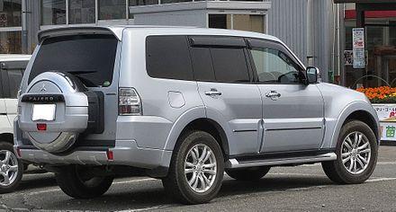 Mitsubishi Pajero IV Restyling 2 2014 - now SUV 5 door #6