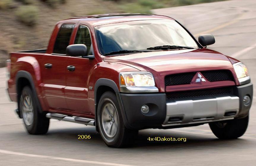 Mitsubishi Raider 2006 - 2009 Pickup #6