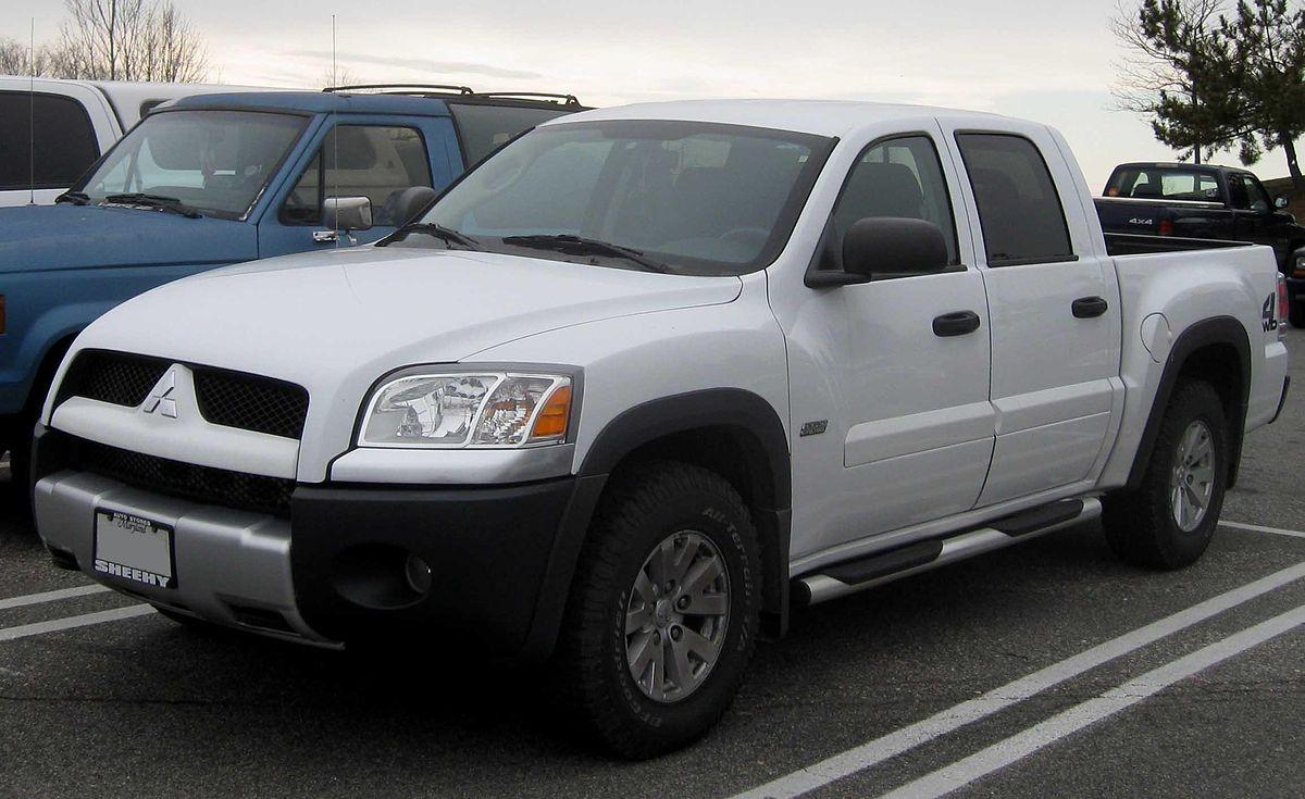 Mitsubishi Raider 2006 - 2009 Pickup #8