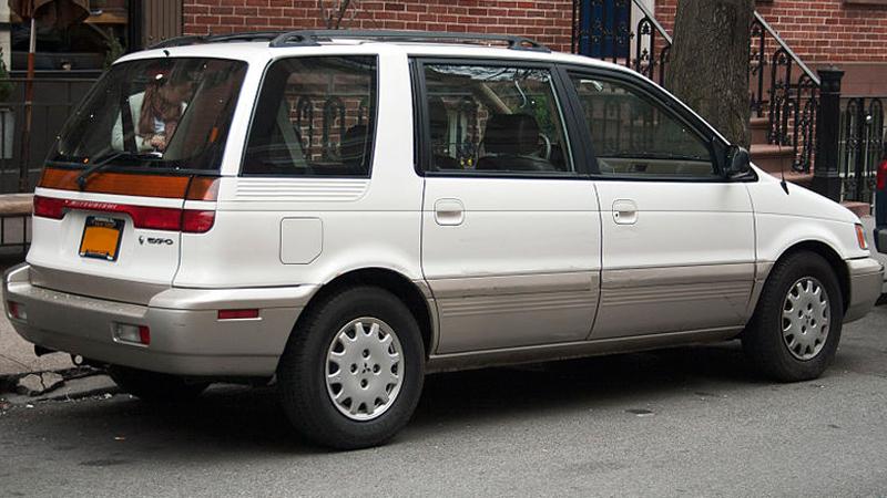 Mitsubishi Savrin I 2001 - 2014 Minivan #2