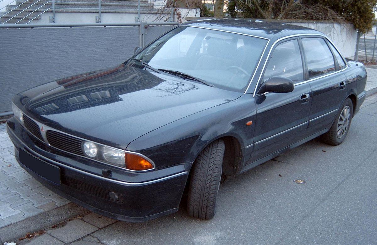Mitsubishi Sigma 1990 - 1996 Sedan #6