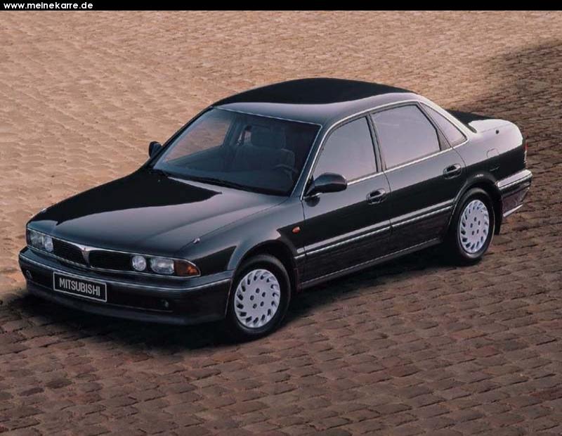 Mitsubishi Sigma 1990 - 1996 Station wagon 5 door #1