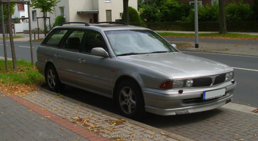 Mitsubishi Sigma 1990 - 1996 Station wagon 5 door #2
