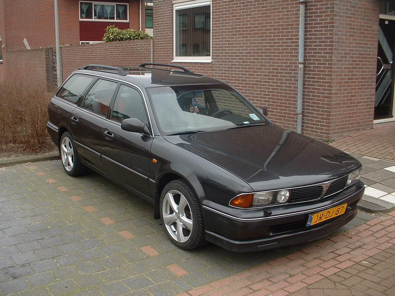 Mitsubishi Sigma 1990 - 1996 Station wagon 5 door #3