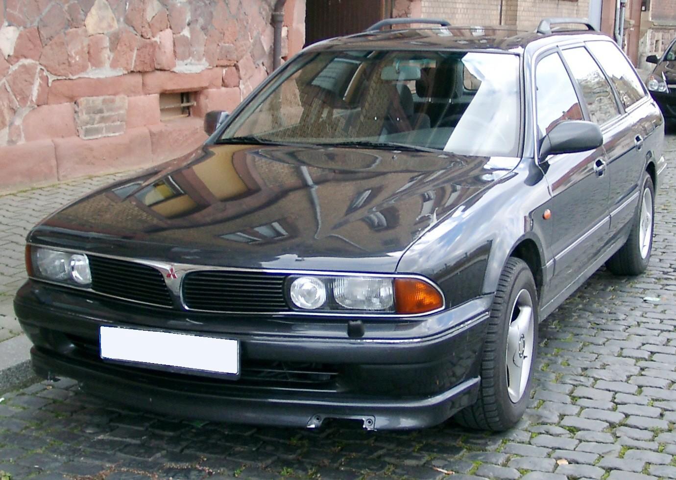 Mitsubishi Sigma 1990 - 1996 Station wagon 5 door #6