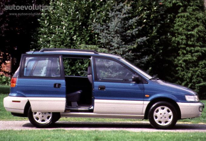 Mitsubishi Space Runner I 1991 - 1999 Compact MPV #7