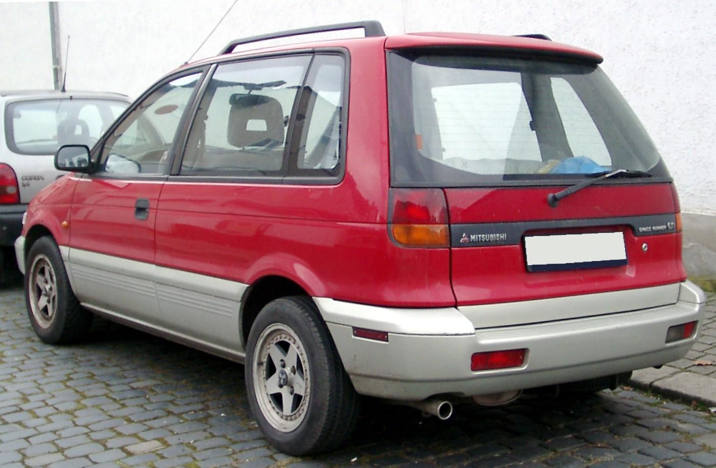 Mitsubishi Space Runner II 1999 - 2002 Compact MPV #1
