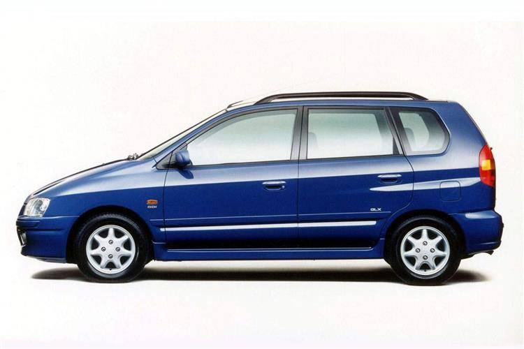 Mitsubishi Space Star I 1999 - 2002 Compact MPV #6