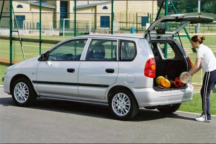 Mitsubishi Space Star I 1999 - 2002 Compact MPV #8