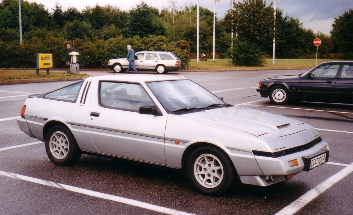Mitsubishi Starion 1982 - 1989 Coupe #8