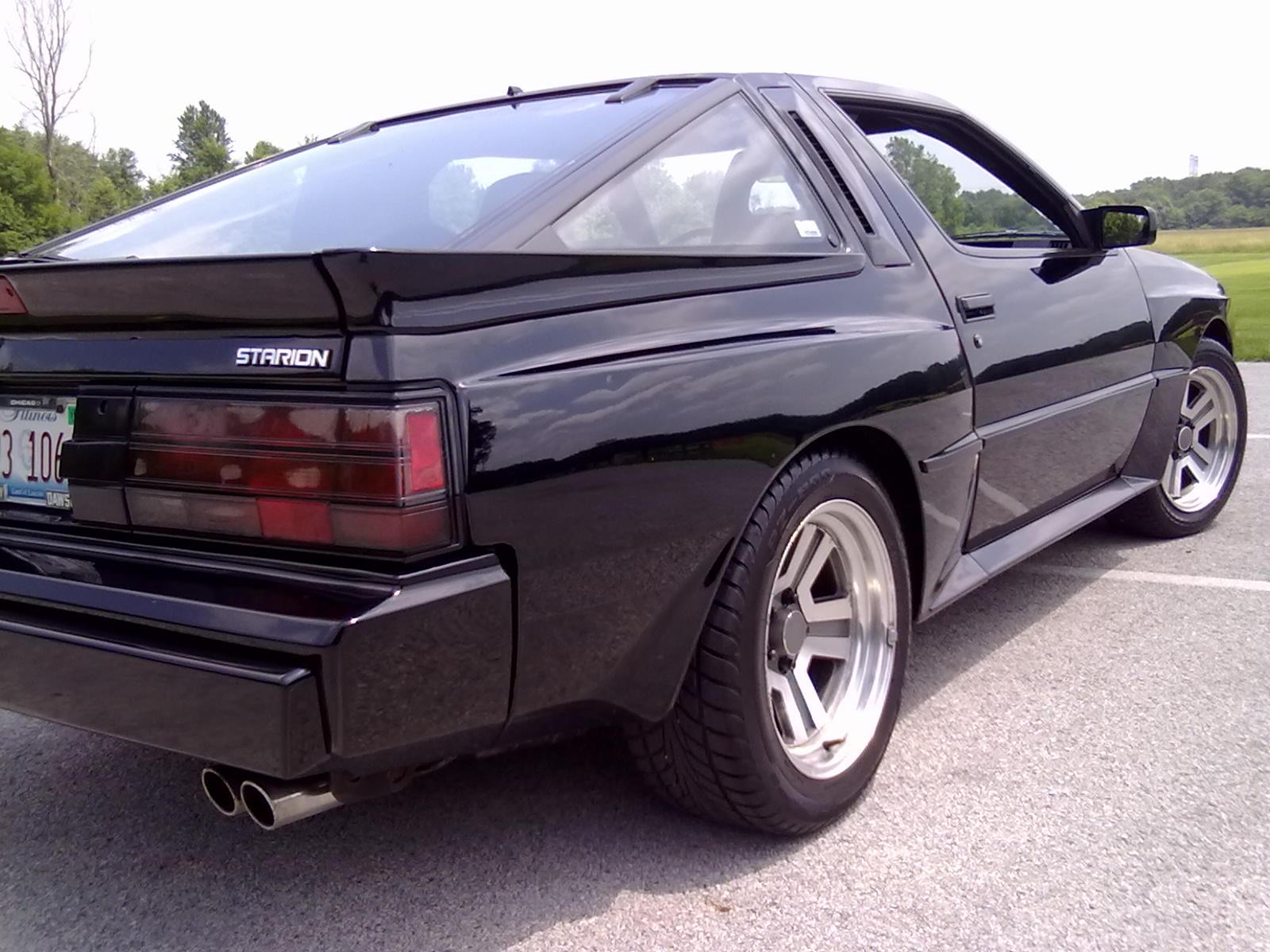 Mitsubishi Starion 1982 - 1989 Coupe #7