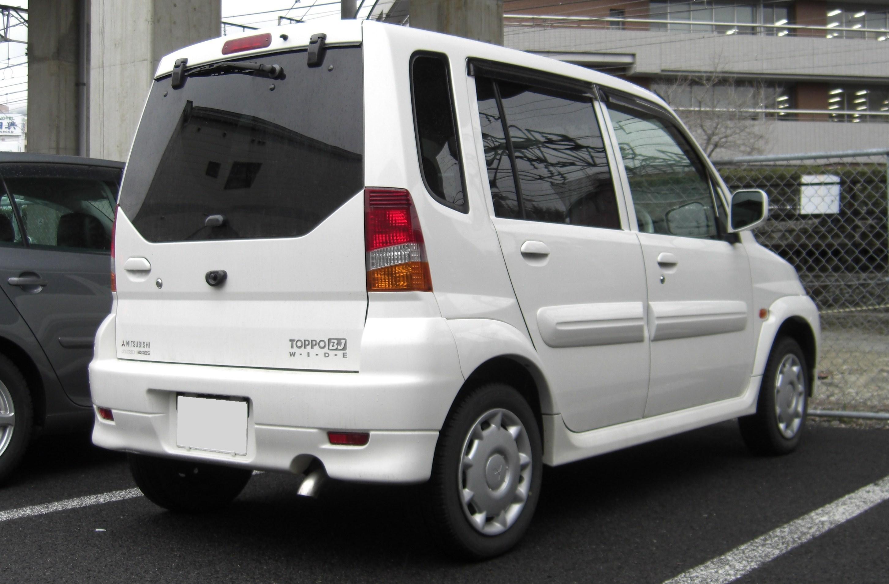 Mitsubishi Toppo I 1990 - 1998 Hatchback 3 door #3