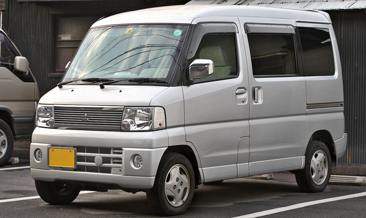 Mitsubishi Town Box 1999 - 2011 Microvan #8