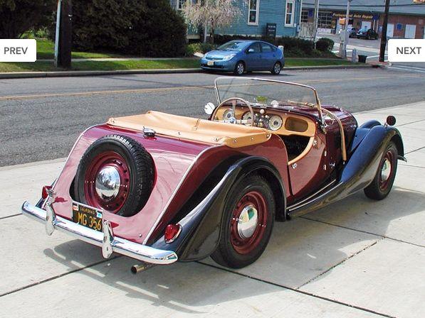 Morgan Plus 4 1950 - now Speedster #8