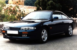 Nissan 200SX II (S14) 1993 - 2000 Coupe #3