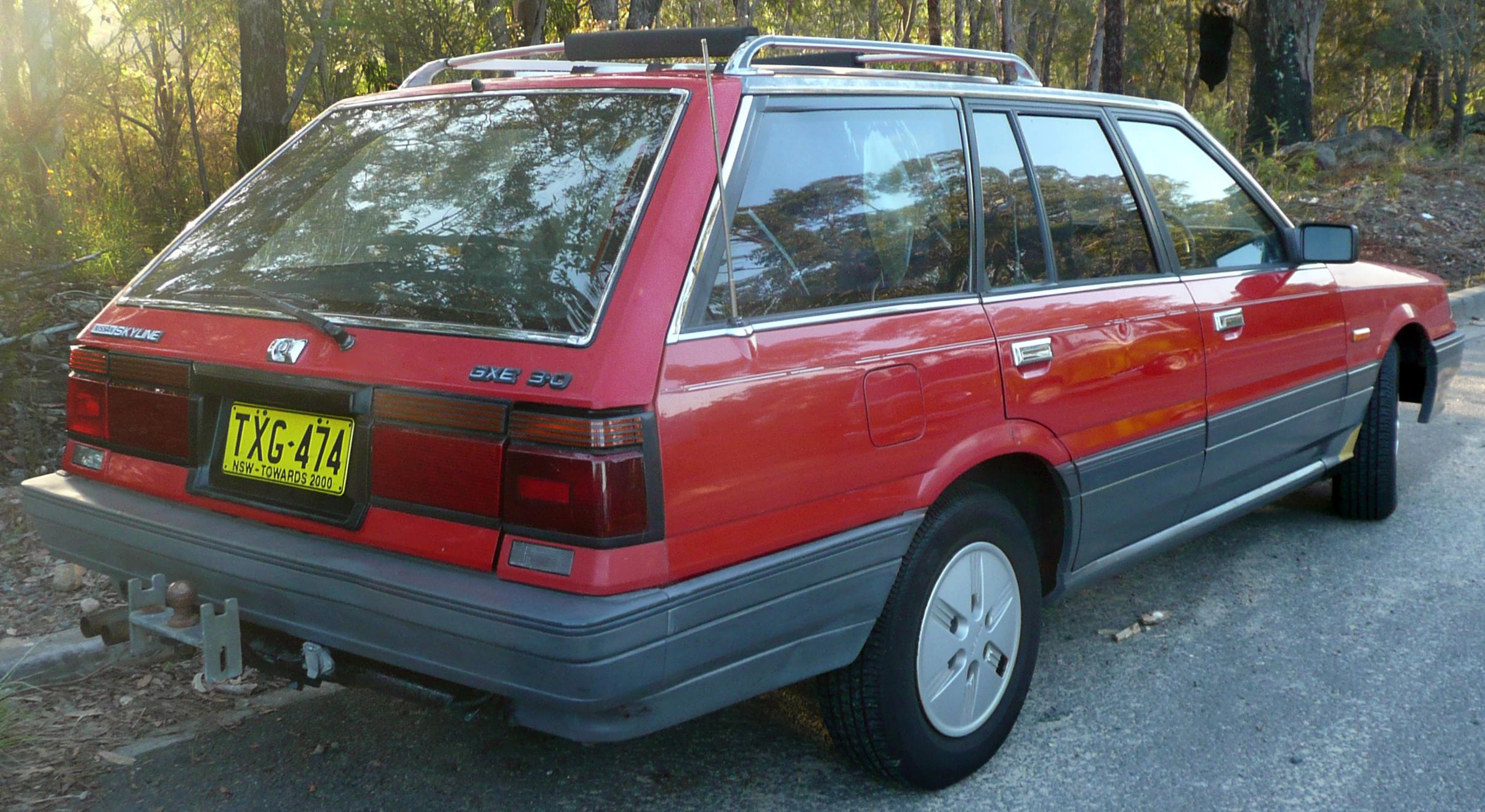 Nissan Skyline VII (R31) 1985 - 1989 Station wagon 5 door #6
