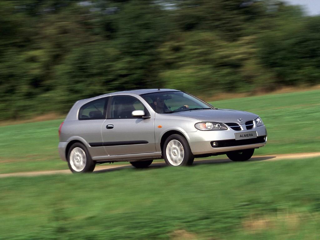 Nissan Almera II (N16) Restyling 2003 - 2006 Hatchback 3 door #3