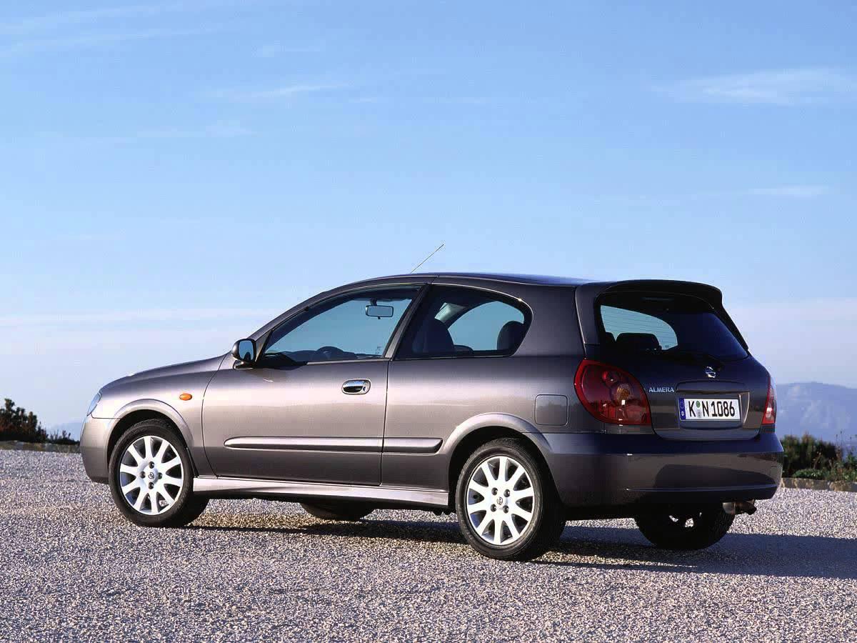 Nissan Almera II (N16) Restyling 2003 - 2006 Hatchback 3 door #4