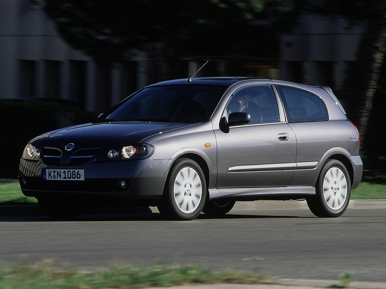 Nissan Almera II (N16) Restyling 2003 - 2006 Hatchback 3 door #1