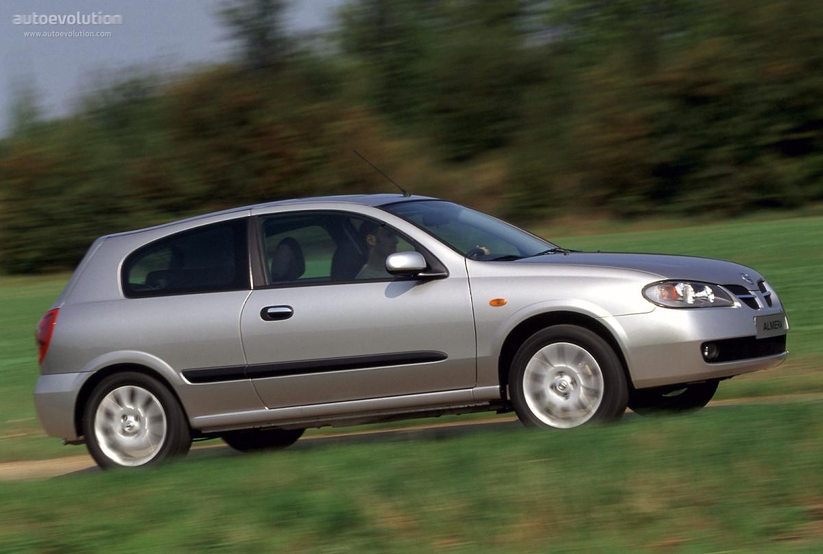 Nissan Almera II (N16) Restyling 2003 - 2006 Hatchback 3 door #6
