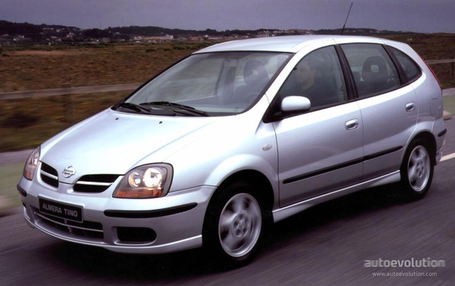 Nissan Almera Tino I 2000 - 2003 Compact MPV #1
