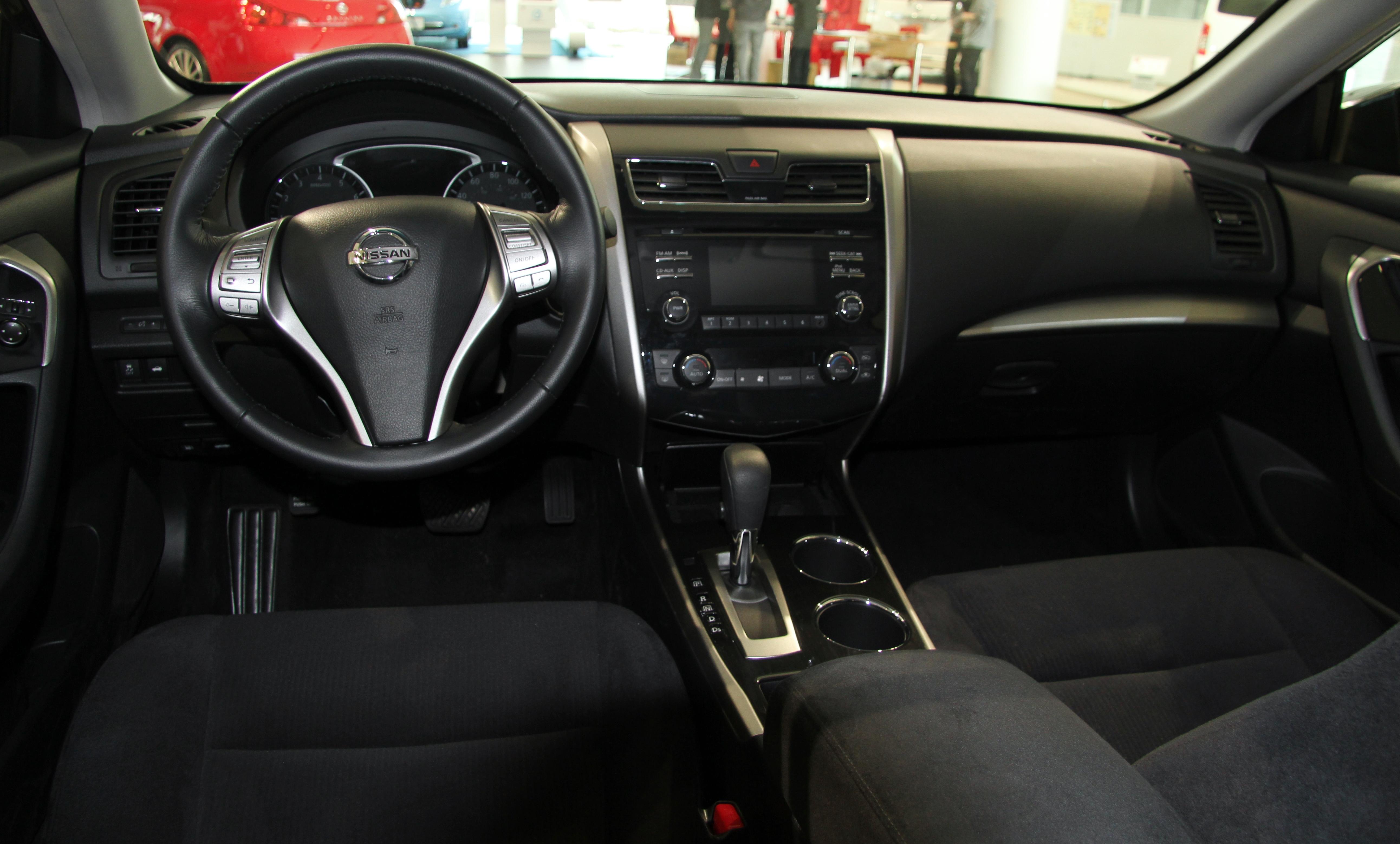2006 Nissan Altima Interior Dimensions