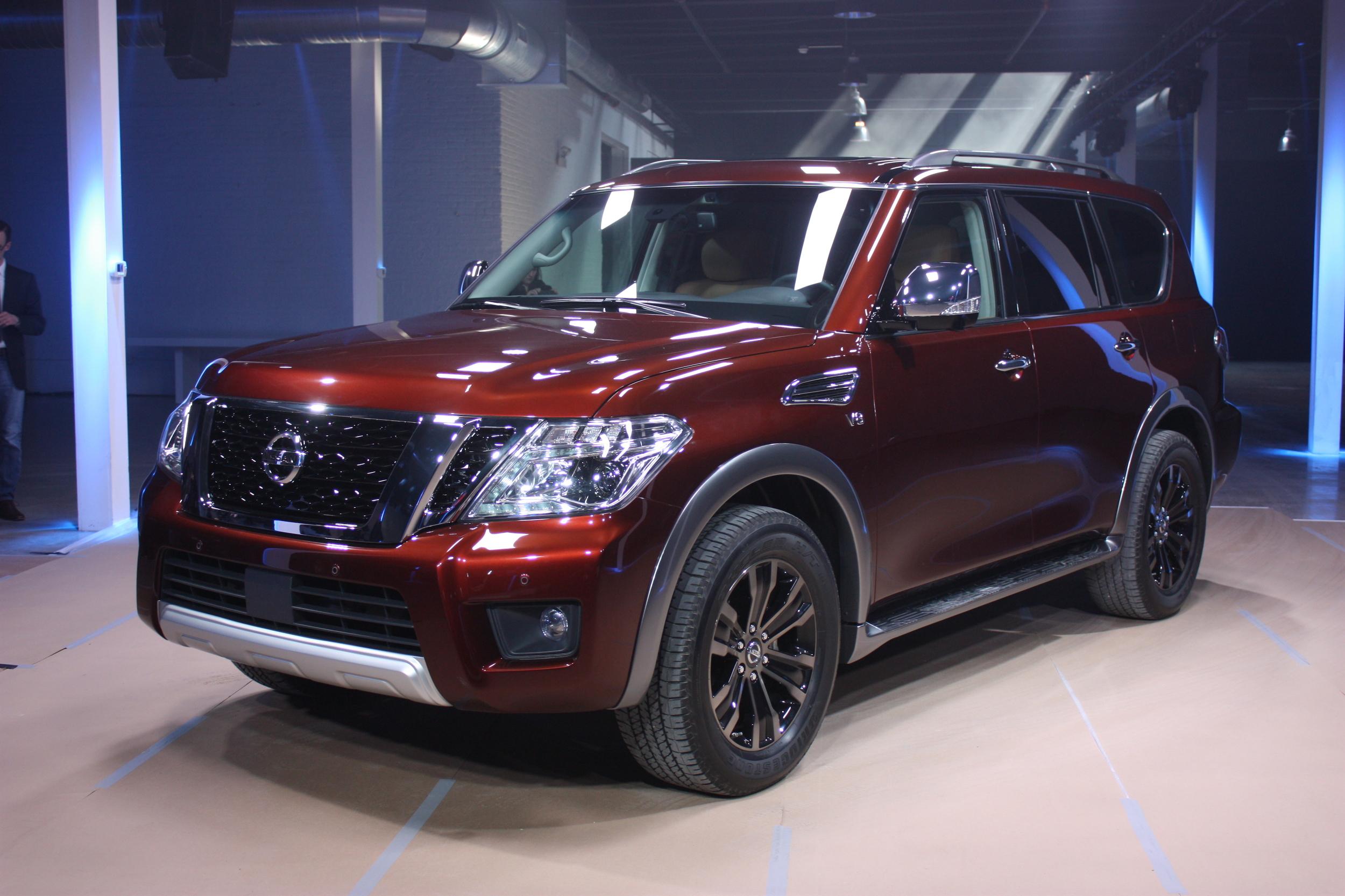 Nissan Armada II 2016 - now SUV 5 door #5