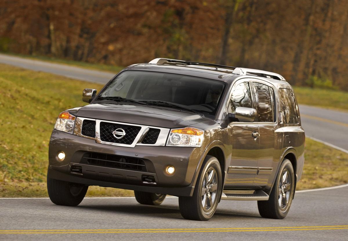 Nissan Armada I Restyling 2007 - 2016 SUV 5 door #7